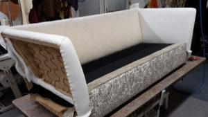 meubelstofferen, moderne bank herstofferen